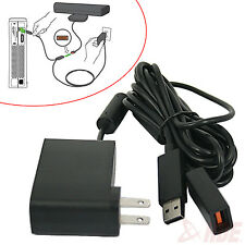 New USB AC Adapter Power Supply Cord for Xbox 360 Kinect Sensor Converter Cable