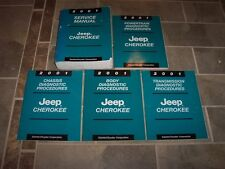 2001 Jeep Cherokee Shop Service Repair Manual Set Laredo Limited SE Sport