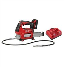 NEW MILWAUKEE 2646-21CT M18 18 VOLT CORDLESS GREASE GUN KIT W/ CHARGER & BATTERY