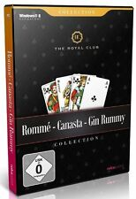 PC Computer Spiel * Rommé, Canasta, Gin Rummy - The Royal Club * Romme **NEU*NEW