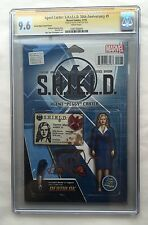 Hayley Atwell Signed Action Figure Variant CGC Shield #1