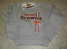 Cleveland Browns youth sweatshirt crewneck sz 7 Large MINT Logo7 RaRe NEW w/ tag