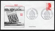 France: 150th Anniversary of French Railways; Cover; with 1f60 Liberty stamp
