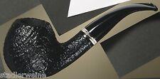 Vauen Pipe Noir Classique Sable 4479/Bague double couleurs argentées/filtre 9 mm