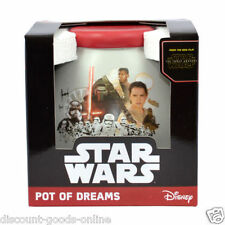 STAR WARS EPISODE 7 THE FORCE AWAKENS POT OF DREAMS MONEY BOX COINS AND NOTES