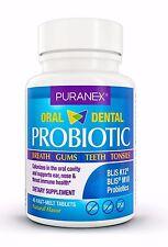 PURANEX Targets Bad Breath, Oral & Dental Probiotic Supplement, BLIS-K12 & M18