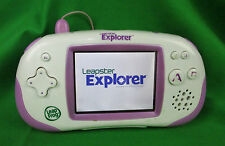 LeapFrog LEAPSTER EXPLORER Touchscreen Learning Handheld System Console Purple