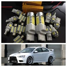 Premium LED Kit Mitsubishi Evo X Lancer 2008+ 16pc Cree REVERSE 7000k Cool White