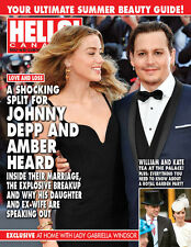 Hello Canada Exclusive Magazine Johnny Depp.. William & Kate #506 2016 Brand New