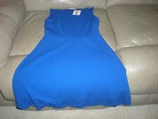 Peach Royal Dress Blue Size Small Brand New Tags Sleeveless Summer Dresses Teen