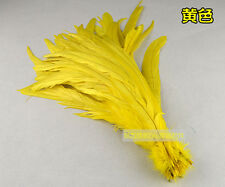 Wholesale! Beautiful rooster tail feathers 10-12inches / 25-30 cm10-100pcs