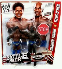 Prime Time Players WWE Mattel Battle Pack 21 Wrestling Figures O'Neil Young NEW