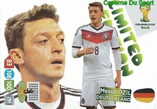 LIMITED EDITION MESUT OZIL # GERMANY PANINI CARD ADRENALYN WORLD CUP BRAZIL 2014