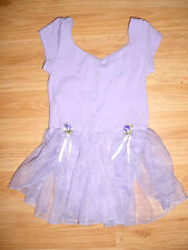 Girls Gymnastics-Dance-Tumbling-Skating Skate Costume-Glitter Skirt-Dress-L