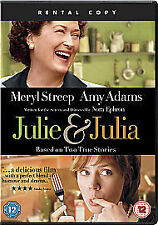 Julie And Julia, Very Good DVD, Amy Adams, Meryl Streep, Nora Ephron