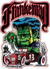 FrankenRod 13 Sticker Decal Artist Ben Von Strawn BV12 Frankenstein