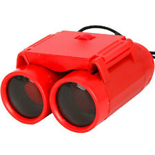 CAMMAN Folding Mini Children Binoculars Telescopes Toy  Red