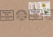 Poland postmark WARSZAWA - medicine rheumatism