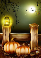 """perfect 24x36 oil painting handpainted on canvas """"Halloween""""@N4070"""