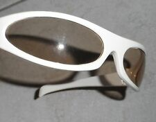 VINTAGE ITALY ITALIAN SUNGLASSES SPACE WRAP DISCO MARKED NOS