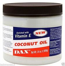 DAX COCONUT OIL ENRICHED WITH VITAMIN E FOR HAIR AND BODY 397G/14 .OZ.