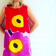 Marimekko dress. Marimekko Unikko Fabric Dress,
