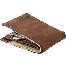Portefeuille pour homme style cuir avec porte carte vintage