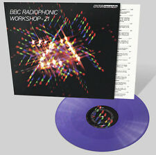 BBC RADIOPHONIC WORKSHOP - 21 - LILAC Vinyl LP - First pressing of 1000