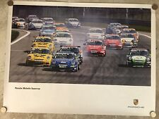 2006 Porsche 911 Carrera Supercup Series Showroom Advertising Poster RARE!! L@@K