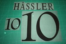 Germany 96/98 #10 HASSLER Homekit Nameset Printing