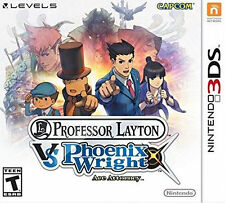 Professor Layton vs. Phoenix Wright: Ace Attorney  -- Nintendo 3DS Game Complete