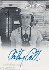 TWILIGHT ZONE THE COMPLETE 50TH A138 ANTHONY CALL HELMSMAN AUTOGRAPH