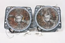 HELLA VW Golf Mk2 1983-1992 Headlights Front Lamps Left=Right 2pcs