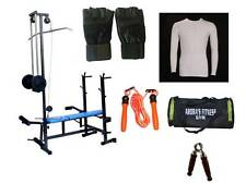A R FIT 20 IN 1 GYM BENCH 2*2 PIPE BEST QUALITY MULTI EXERCISE  free accessories