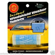 303 Products Instant Windshield Washer Tablets Each Tab Makes 1 Gallon