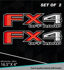 4X4 SPORT OFFROAD DECAL STICKER FOR FX4 F150 F250 F350 RANGER 20031