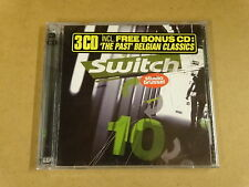 2-CD + BONUS CD STUDIO BRUSSEL / SWITCH 10
