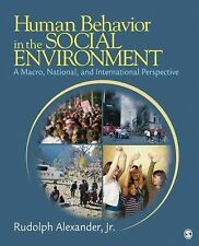 NEW Human Behavior in the Social Environment by Rudolph Alexander Paperback Book