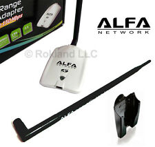 NEW ALFA AWUS036NHR USB Wireless Wi-Fi & 9 dBi ANTENNA