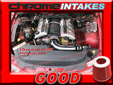 BLACK RED NEW 04 2004 PONTIAC GTO G T O 5.7 5.7L/6.0 6.0L V8 FULL AIR INTAKE