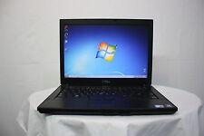 """Laptop Dell Latitude E6410 14.1"""" Core i5 2.4Ghz 4GB 250GB Windows 7 NEW BATTERY"""