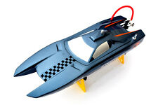 Bare Hull DT M380 Electric Brushless RC Racing Speed Boat Fiber Glass KIT Grey