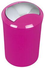 Spirella Sydney Dark Pink Abfalleimer Mülleimer Eimer 5 Liter Swiss Design Rosa