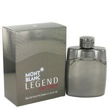 Mont Blanc Legend Intense Cologne Men Perfume Eau De Toilette Spray 3.4 oz EDT