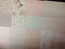 12 SHEET TASTER PACK 8 x 8 DOVECRAFT FLORAL MUSE BACKING PAPER CARD MAKING CRAFT