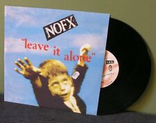 "NoFx ""Leave it Alone"" 10"" EX Blink 182 AFI Rancid Bad Religion LP"