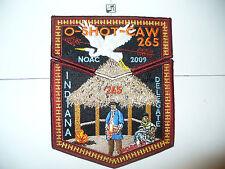 OA O Shot Caw Lodge 265,2009 NOAC, Seminole Indian Chicki, 2 Part Set,MAR,DEL,FL