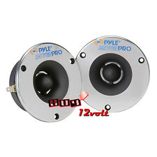 "PYLE PDBT18 3.75"" Aluminum Horn with 1"" Super Bullet Tweeter (Pair)"