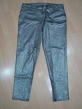 NWT Faded Glory XL 16/18 coated jeggings leggings skinny stretch inseam 29