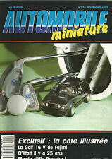 AUTOMOBILE MINIATURE N°54 GOLF 16 V DE FUJIMI / MAZDA DEFIE PORSCHE